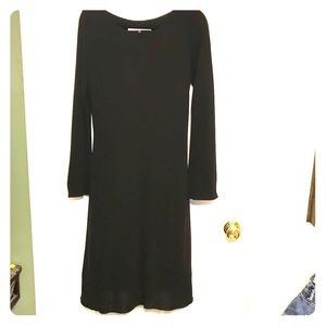 Diane Von Furstenberg long sleeve crepe dress